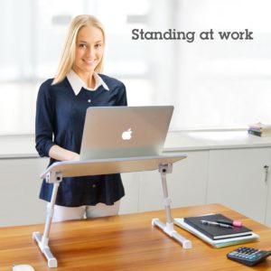 Stand Laptop Avantree TB101 gri pentru lucrul la birou