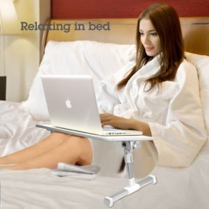 Stand Laptop Avantree TB101 gri pentru lucrul in pat sau pe fotoliu