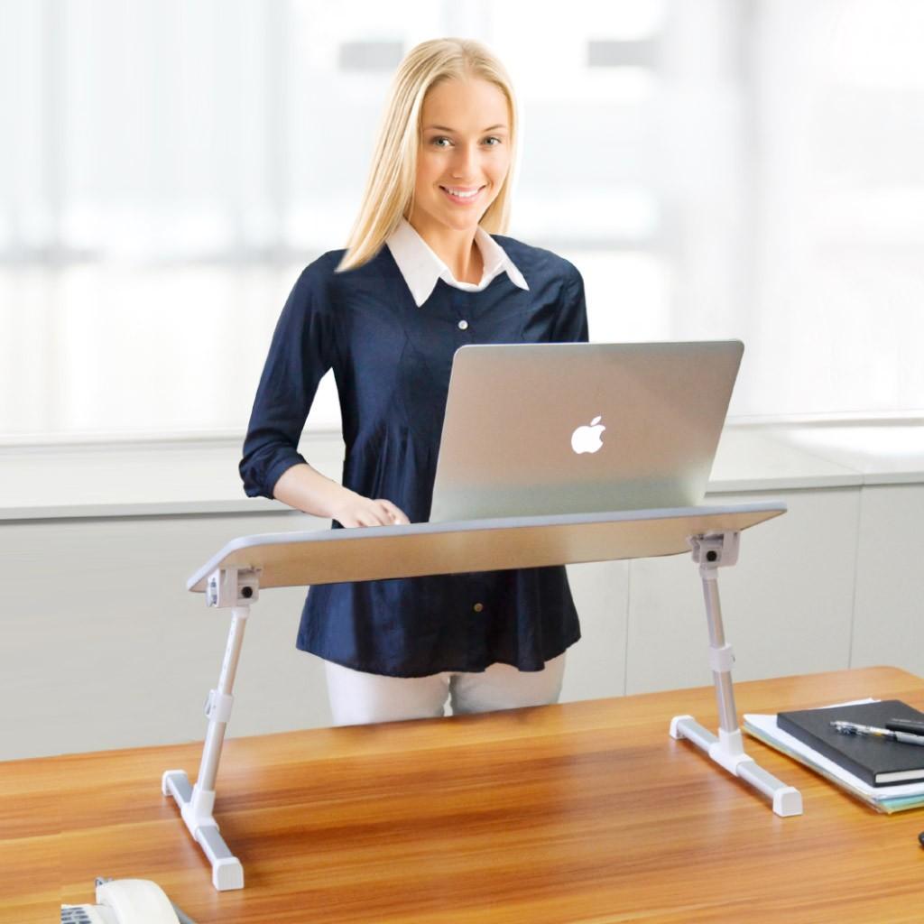 stand laptop Avantree TB101L gri, multifunctional, pentru lucrul la birou
