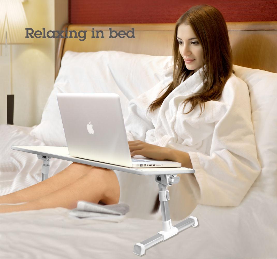 stand laptop Avantree TB101L gri, multifunctional, pentru lucrul in pat, pe fotoliu